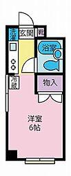 ハイツ藤[2階]の間取り