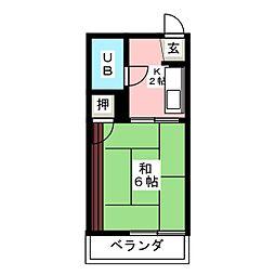 フォーブルダイヤ[1階]の間取り