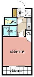 ライオンズマンション三萩野駅前 302号[302号室]の間取り