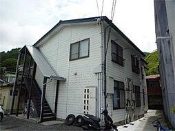 長野県諏訪市清水2丁目の賃貸アパートの外観