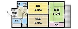 ルネ・シャレード[3階]の間取り