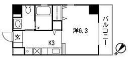 ESPOIR(エスポワール)[2階]の間取り