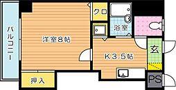 ピエドラブランカ西本町[8階]の間取り