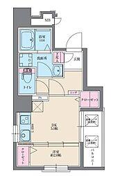 イクシオン博多[9階]の間取り