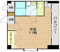 メゾンティファニー[7階]の間取り