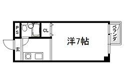 シェモワキタガワ[405号室]の間取り