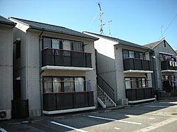 愛媛県東温市野田2丁目の賃貸アパートの外観
