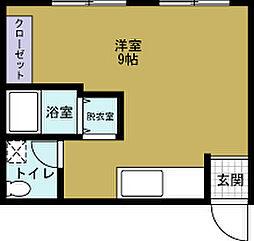 富岡第2マンション[3階]の間取り