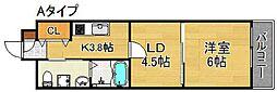 moco-05[3階]の間取り