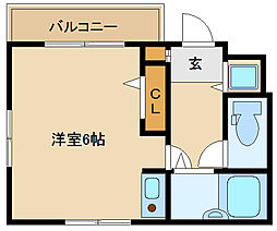 ラファ道意町[3階]の間取り