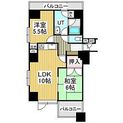ライオンズマンション苫小牧錦町[10階]の間取り