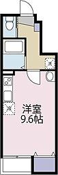 中村アパート(仮)[105 号室号室]の間取り