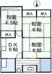 [一戸建] 埼玉県さいたま市北区別所町 の賃貸【/】の間取り
