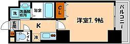 アドバンス大阪城アンジュ[13階]の間取り