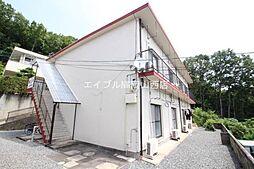 岡山県岡山市北区津島東4の賃貸アパートの外観