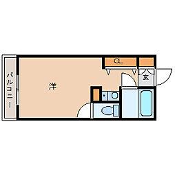 兵庫県尼崎市武庫元町1丁目の賃貸マンションの間取り