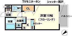 MYTハイツ2[1階]の間取り