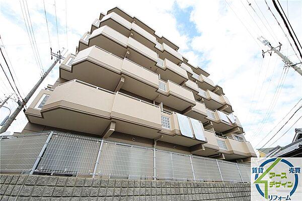 東急ドエル・アルス西明石[1階]の外観