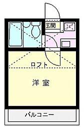 アートパレス上福岡[103号室号室]の間取り