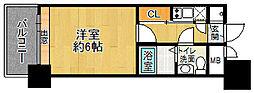 エステート・モア高宮PAIR[6階]の間取り