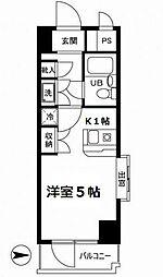 ワコーレ・メイ中村橋[6階]の間取り