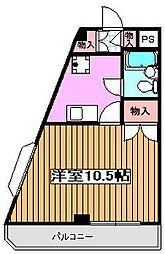 ファミリーナタマIII[2階]の間取り