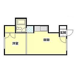 マンション514[3号室]の間取り