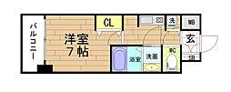 サムティ福島PORTA[509号室]の間取り