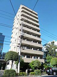 東京都新宿区北山伏町の賃貸マンションの外観