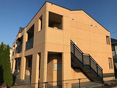 外観,1LDK,面積36m2,賃料5.6万円,つくばエクスプレス 研究学園駅 徒歩20分,つくばエクスプレス つくば駅 4.8km,茨城県つくば市学園の森1丁目