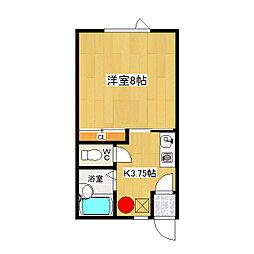 みきハウス[1-C号室]の間取り