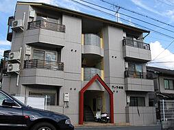 京都府京都市山科区御陵鴨戸町の賃貸アパートの外観