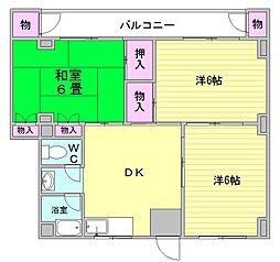 武石ビル[3階]の間取り