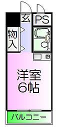 メゾンエルム[8階]の間取り