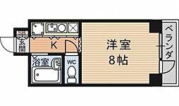 第24長栄アビタシオン[305号室号室]の間取り
