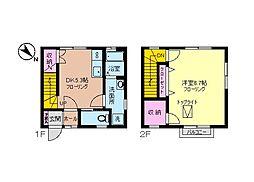 [テラスハウス] 神奈川県横浜市中区小港町3丁目 の賃貸【/】の間取り