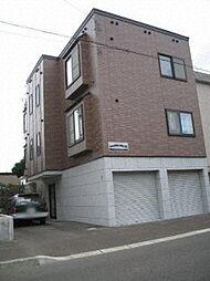 北海道札幌市北区北二十九条西8丁目の賃貸アパートの外観
