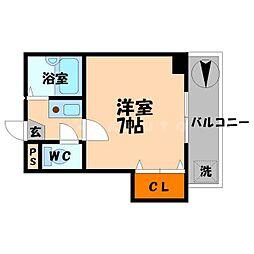 藤マンション2[2階]の間取り