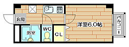 ネオサンフラワー[2階]の間取り