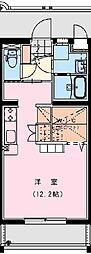 ラフィーナパレス宮崎[105号室]の間取り