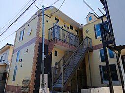 神奈川県横浜市金沢区寺前2丁目の賃貸アパートの外観