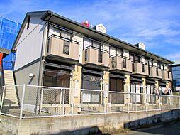大阪府池田市上池田2丁目の賃貸アパートの外観