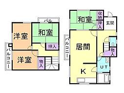 清田5−2貸家 1階4LDKの間取り