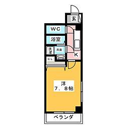 アートピア栄[5階]の間取り