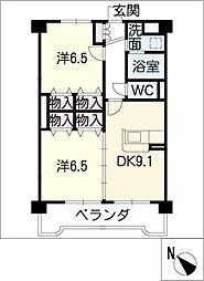 ファイブアイランドIII[4階]の間取り