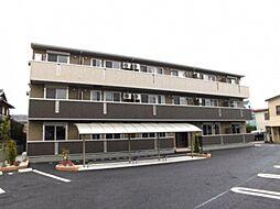 埼玉県深谷市本住町の賃貸アパートの外観
