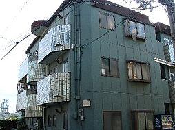 パールハイツB棟[3階]の外観