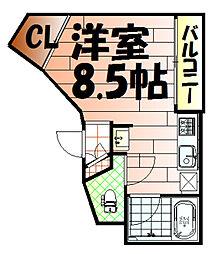 FACE12[1階]の間取り