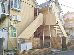 埼玉県川口市大字小谷場の賃貸アパートの外観