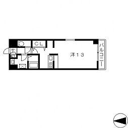 ベローナ[402号室号室]の間取り
